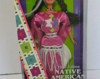 Native American Barbie Dolls of the World Collection Mattel Second Edition
