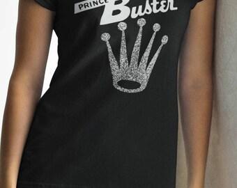 Prince Buster T shirt screen print short sleeve     shirt cotton