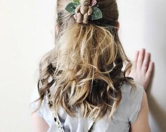 Easter Bunny Hair Bows, Miniature Vintage Bunny, giddyupandgrow