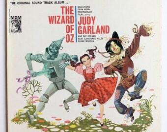 VERY RARE Wizard of Oz Vinyl Soundtrack -- Very Good