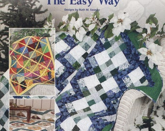 Scrap Quilting the Easy Way by Ruth M. Swasey - TIB12499