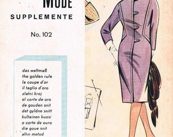 Vintage Lutterloh System - The Golden Rule Supplement No.102, 1960's