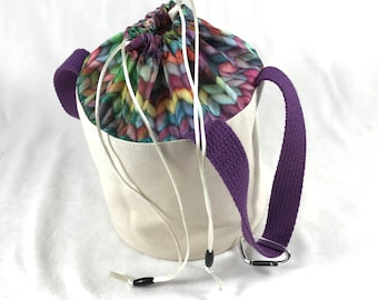 Bulky Knit - Bitty Bucket Bag