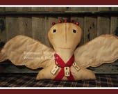 Primitive Angel, Christmas Angel, Joy, Christmas, Angel, prim angel, farmhouse angel, folk art angel, angel