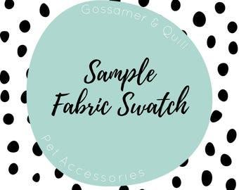 Solid Flannel Sample Swatch