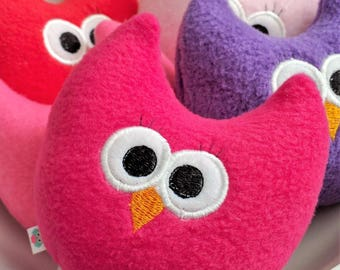 Owl Toy for kids/Handmade Baby Toy/Stuffed Owl/Soft Owl Plush/Room Decor/Gift for Her/Comfort Toy/Forest Animal Toy/Tween Gift/Teacher Gift