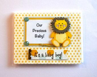 Photo Album  New Baby Boy, Our Precious Baby Brag Book, It's A Boy Baby Album,  New Baby Album,  Baby Boy Album