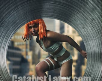 Latex LeeLoo from Fifth Element inspired Body