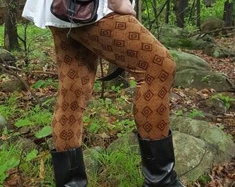 Men's Rustic Diamond Velvet Legging