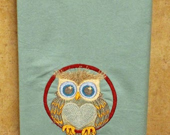 Flour Sack Towel - Owl Love