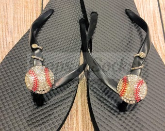 """Unique Flip Flop Charms, removable to switch to another pair, fits 3/8"""" strap; NEW"""