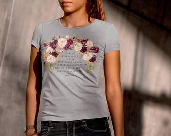 Audre Lorde Self-Preservation Women's Short Sleeve T-Shirt
