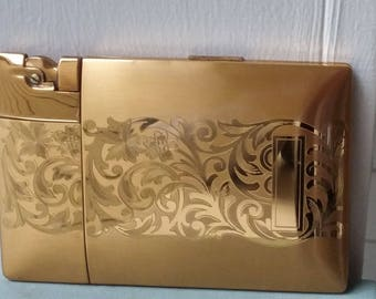 Elgin American Magic Action Lighter and Cigarette Case in Box