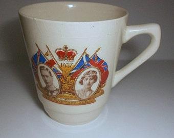 Great Britain  Coffee Cup  King George VI