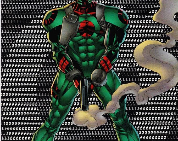 Vintage Xero Comic Book, DC Comics, No 10, February, 1998