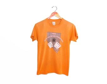 vintage t shirt / Las Vegas t shirt / vintage running shirt / 1980s Las Vegas Marathon thin t shirt Small