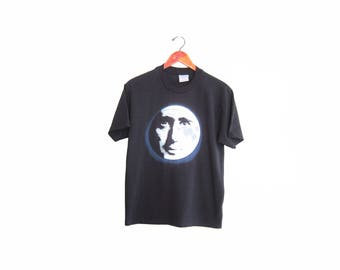 vintage t shirt / Andy Kaufman / 90s movie shirt / 1990s Andy Kaufman Man on the Moon t shirt Medium
