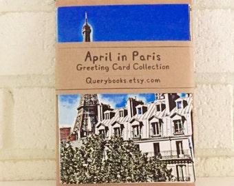 April in Paris Greeting Card Collection Digital Art