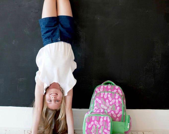 Girls Monogrammed Backpack, Bookbag, Personalized Backpack, Monogrammed Gifts, Back to School, Preppy Backpack, School Supplies