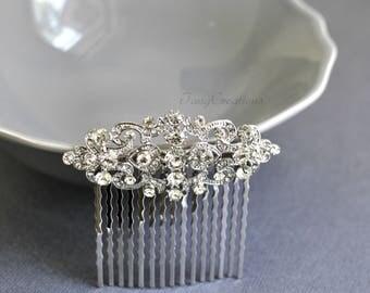 Wedding Hair accessories,Wedding hair comb,Crystal hair jewelry,Bridal hair comb,Wedding hair piece,Bridal comb,Wedding hair clip,Bridal