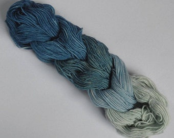 Natural Dye Blues Mini Skein Set 50g Indigo Blue Tones dyed with plant extracts