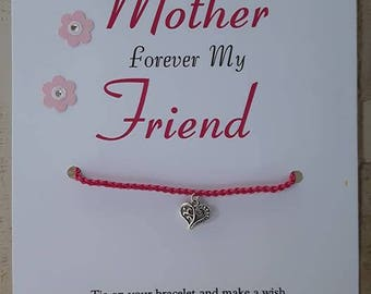 First My Mother Wish Bracelet