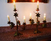 Antique  Candle Holders. ...