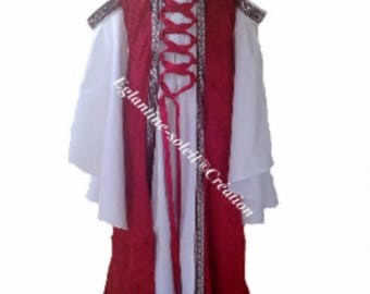 "Custom ""ELEANOR"" medieval dress"