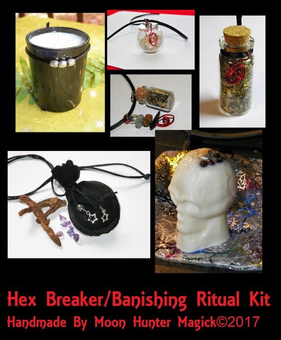 Hex Breaker Banishing Combo Kit Banishing Exorcism Ritual Kit