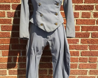 Vintage Jodhpurs and Jacket Uniform // Chauffeur // Breeches // Theater Costume