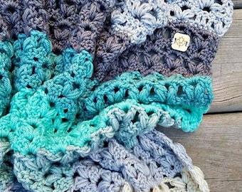 Victoria Afghan Crochet Pattern pdf