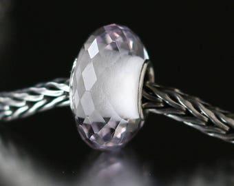 Pink amethyst faceted semi-precious gemstone 12-48
