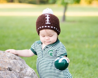 baby football hat newborn hat for boys toddler halloween baby football beanie