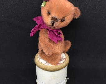 Rosalee - One of a Kind Miniature Artist Bear