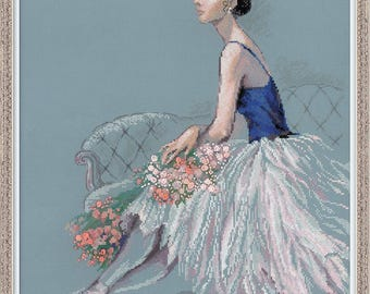 Ballerina - Cross Stitch Kit from RIOLIS Ref. no.:100/054