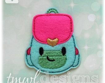 """Backpack Feltie Digital Design File - 1.75"""""""