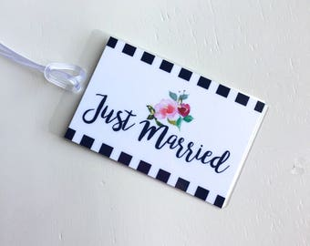Luggage Tag Bride, Couple Luggage Tags, Bride and Groom Luggage Tags, Honeymoon Luggage Tags, Bridal Shower Gift