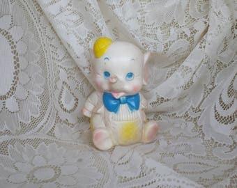 Vintage Piggy Squeeze Toy