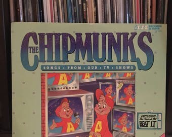 """The Chipmunks - """" Songs From Our Tv Shows """" vinyl record"""