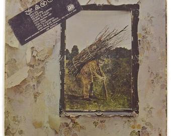 Vintage 70s Led Zeppelin IV Club Edition Gatefold Rock Album Record Vinyl LP