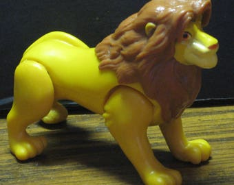 "Disney Lion King Simba McDonalds 3"" Action Figure - 1996 Vintage Masterpiece Collection"