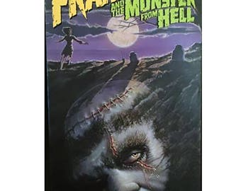 Frankenstein and the Monster from Hell VHS