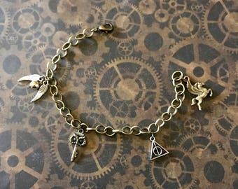 Harry Potter 1 charm bracelet
