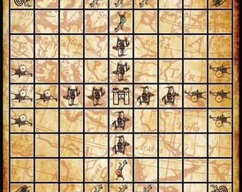 YOUTH TABLUT Knights and Vikings Tablut Hnefatafl board game / almost done pre-order