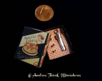 Miniature Vintage Cake Nozzle - 1/12
