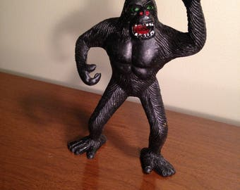King Kong rubber toy by Imperial 1976 very good condition