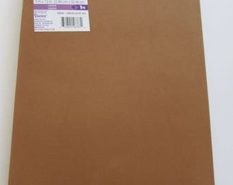 10 Sheets of Foam 9x12 - Cocoa - Ideal for foam crafts, fofuchas and more