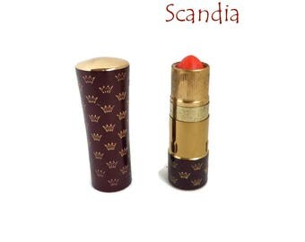 Vintage Scandia Lipstick | Secret Touch Cosmetics | Pink Honey Lipstick