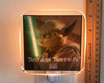 Yoda Night Light