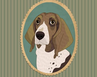 Custom Portrait Pet portrait Pet art Pet drawing Custom dog portrait Dog Memorial dog portait Custom pet illustration Christmas gift